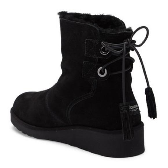 287d32a9e3d NWT Women's black Koolaburra Ugg Lomia boots NWT